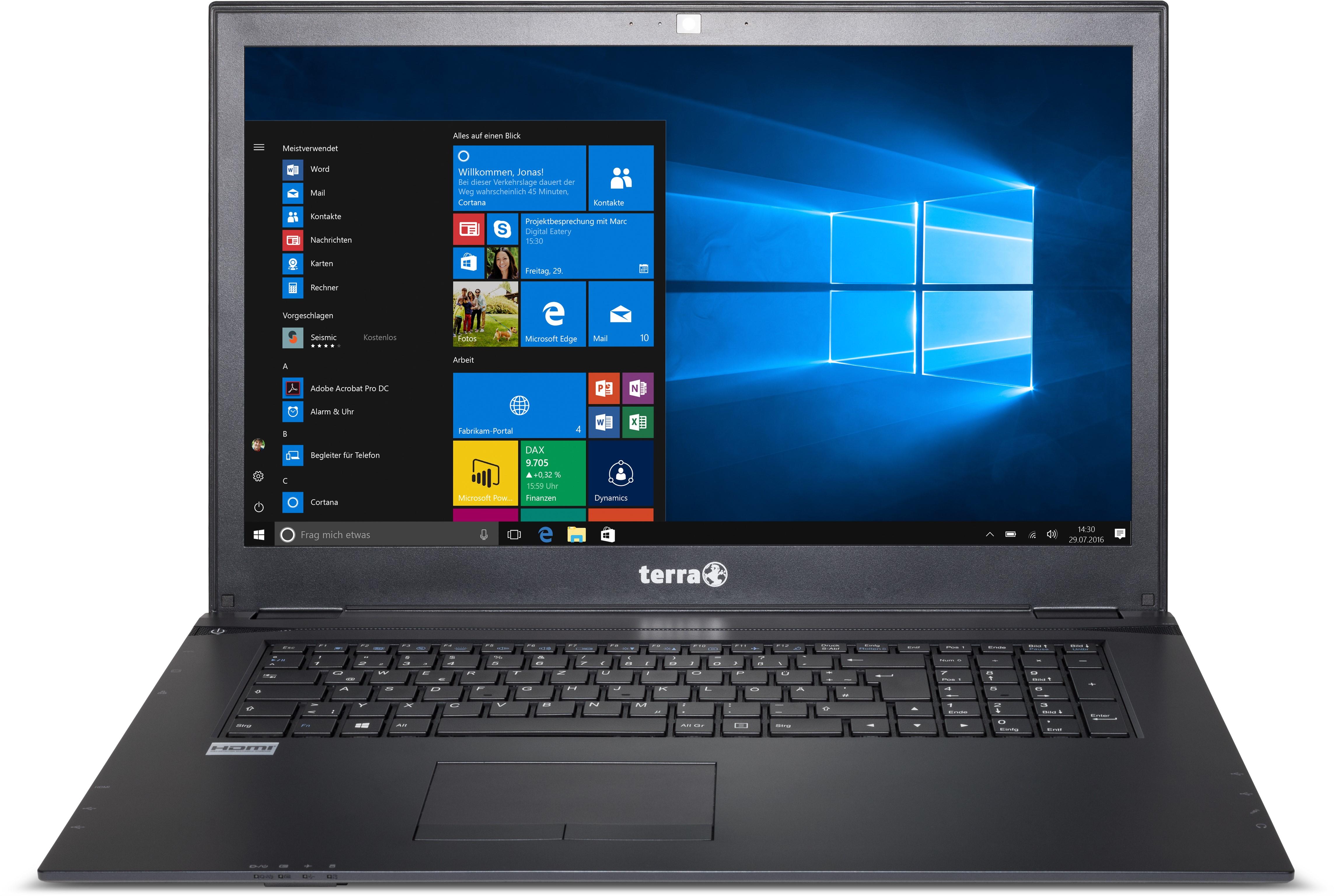 f8448c7414 PC Portable Terra Mobile 1715 i5-7200U Windows 10 Professionnel ...